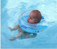 Надувной круг на шею младенцам