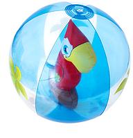 Надувной мячик 3D с попугаем внутри №31041