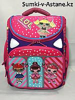 Школьный ранец для девочек,1-2 класс.Высота 36 см, длина 27 см, ширина 17 см., фото 1