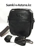 Мужская сумка-барсетка через плечо CTR BAGS. Высота 17 см, ширина 14 см, глубина 4 см., фото 1
