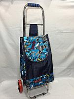 Хозяйственная сумка-тележка для продуктов.Высота 98 см, длина 37 см, ширина 20 см., фото 1