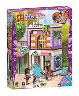 Конструктор LARI Friends Художественная студия Эммы арт.11200 (Аналог LEGO Friends 41365)