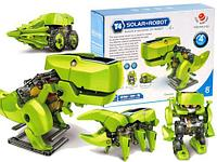 "Конструктор ""Буронозавр"" 4 в 1, на солнечной батарее арт .2125A"