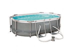 Овальный каркасный бассейн Bestwey 56617 (300*200*84 см, на 5700 литров), фото 2