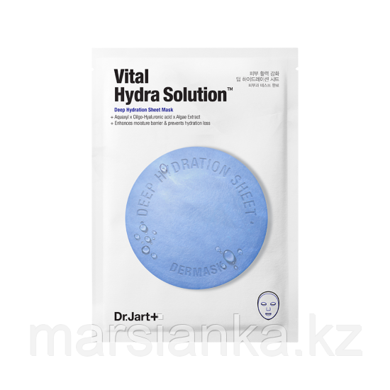 Dr.Jart+ Увлажняющая тканевая маска Vital Hydra Solution