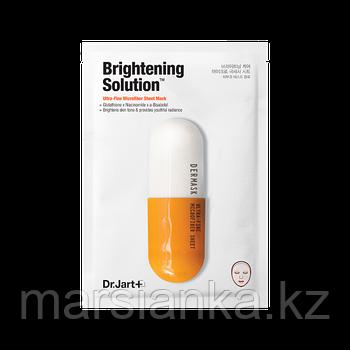 Dr.Jart+ Осветляющая тканевая маска Brightening Solution