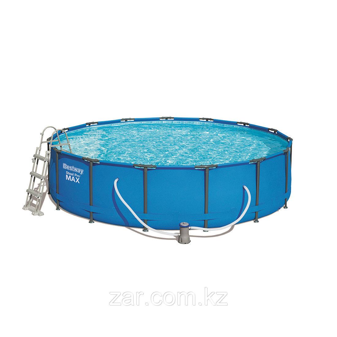 Каркасный бассейн Bestway 56488, Steel Pro MAX 457 х 107 см