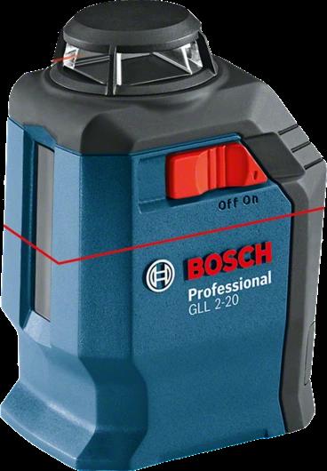 Линейный лазерный нивелир BOSCH GLL 2-20