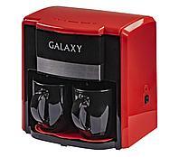 Galaxy GL 0708 Кофеварка электрическая, красная