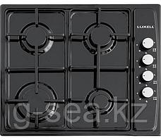 LUXELL LX-410BF Газовая варочная панель черная