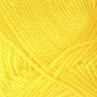Пряжа 'Bonbon luks' 100 акрил 240м/100г (98407 жёлтый)