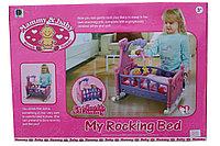 Кроватка для кукол 661-03А