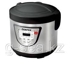 Мультиварка Centek CT-1496 (черный, сталь)