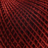Нитки вязальные 'Ирис' 150м/25гр 100 мерсеризованный хлопок цвет 5812 (комплект из 10 шт.)
