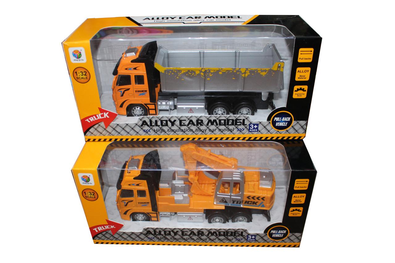 Строительная машина в коробке 401-1-4