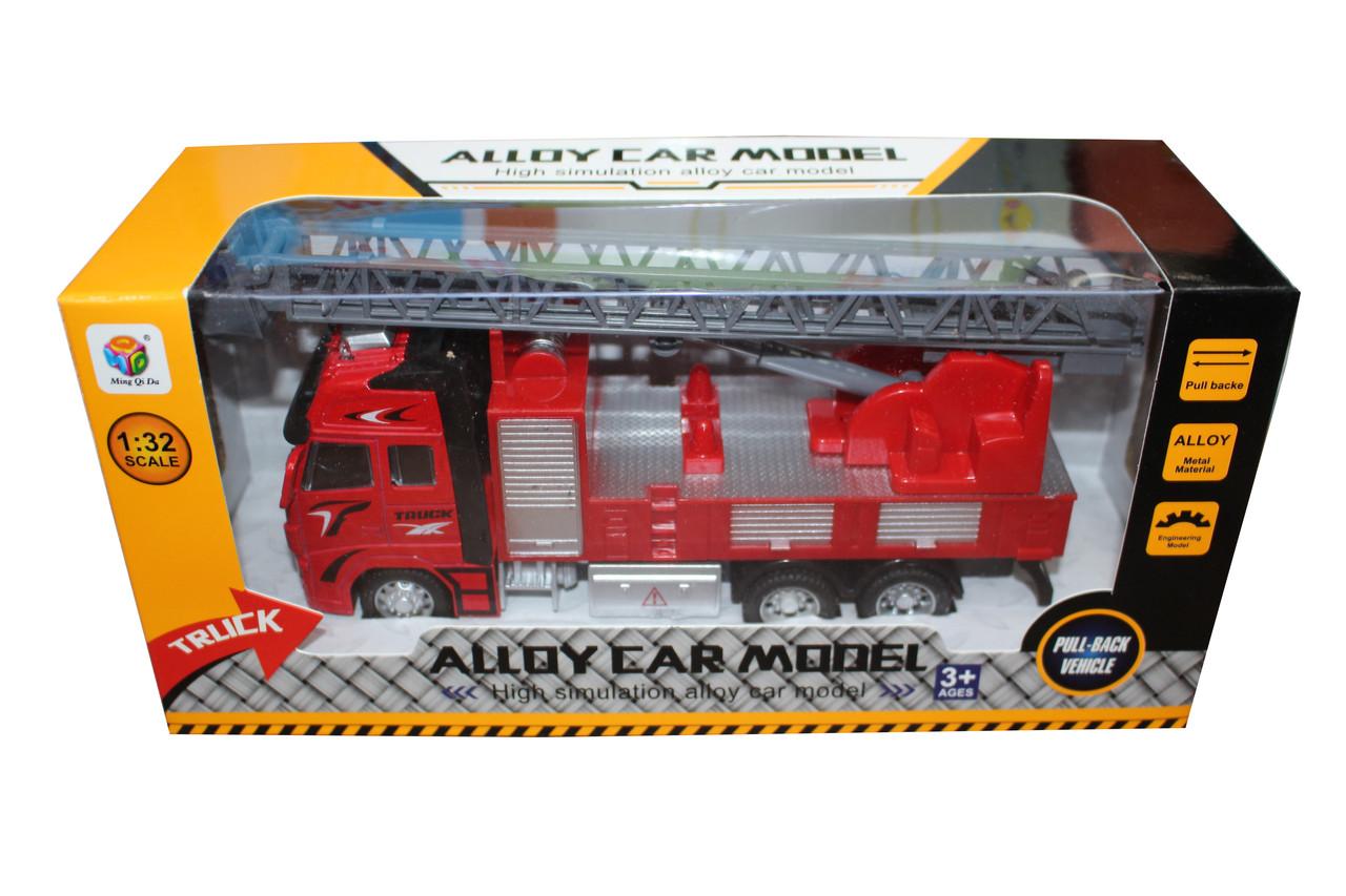 Пожарная машина в коробке 401-5-8
