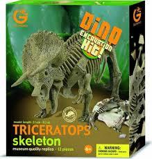 Geoworld Triceratops skeleton