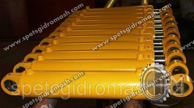 Гидроцилиндр выноса тяговой рамы автогрейдера ДЗ-143/ДЗ-180 ГЦ-80.50.710.300.64