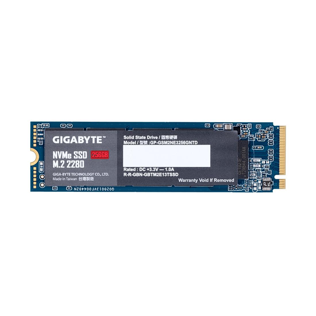 Твердотельный накопитель внутренний Gigabyte GP-GSM2NE3256GNTD 256GB M.2 PCI-E 3.0x4