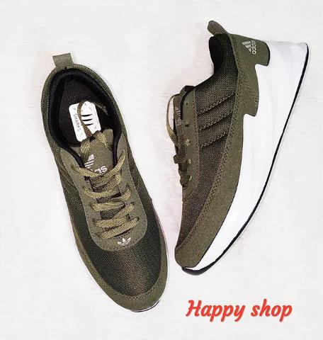 Кроссовки мужские хаки Adidas 40-44 размер