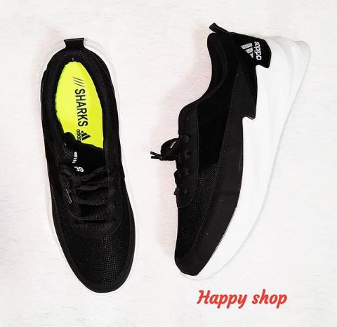 Кроссовки мужские черные Adidas 40-44 размер