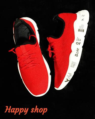 Кроссовки мужские красные 40-44 размер