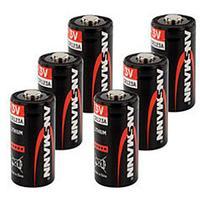 Батарейка литиевая CR123А 3 V, Ansmann (Premium)