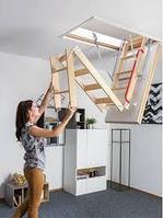 Чердачная лестница 60х120х280 FAKRO LWK Komfort   тел.WhatsApp: +7 701 100 08 59