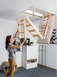 Чердачная лестница 70х120х280 FAKRO Komfort    тел.WhatsApp: +7 701 100 08 59, фото 3
