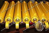 Гидроцилиндр поворота отвала бульдозера УДМ (на базе К-701,702,744)  ГЦ160.80.800.360.00, фото 5