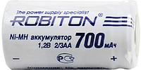 Аккумулятор ROBITON  2/3AA 1,2v 700mAh