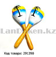 Музыкальная игрушка Маракас с пальмами