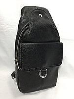 Нагрудная сумка через плечо. Высота 30 см,ширина 15 см, глубина 5 см., фото 1