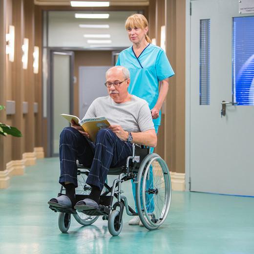 Кресло-коляска Армед Н 001 с дополнительными колесами - фото 5