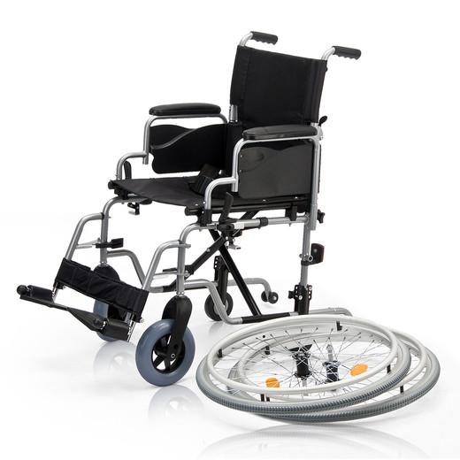 Кресло-коляска Армед Н 001 с дополнительными колесами - фото 8