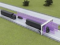 Измерение габаритов транспортного средства TIC 502, SICK