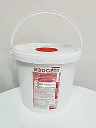 Диспенсерная система (дезинфицирующие салфетки) Изосепт 3,8 л, с салфетками 200/250 шт.