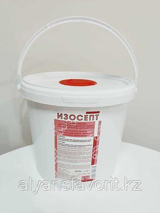 Диспенсерная система Изосепт 3,8 л, с салфетками 250 шт. РК, фото 2