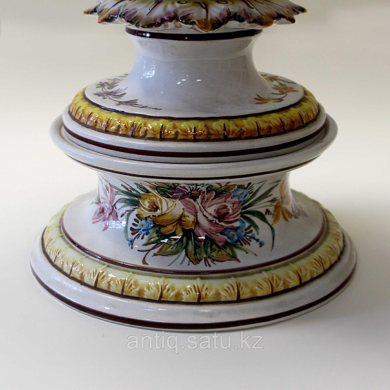 Напольная ваза Carpie Nove. Фарфоровая мануфактура Carpie Nove / Capodimonte - фото 9