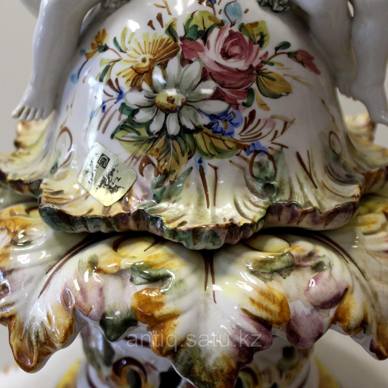 Напольная ваза Carpie Nove. Фарфоровая мануфактура Carpie Nove / Capodimonte - фото 4