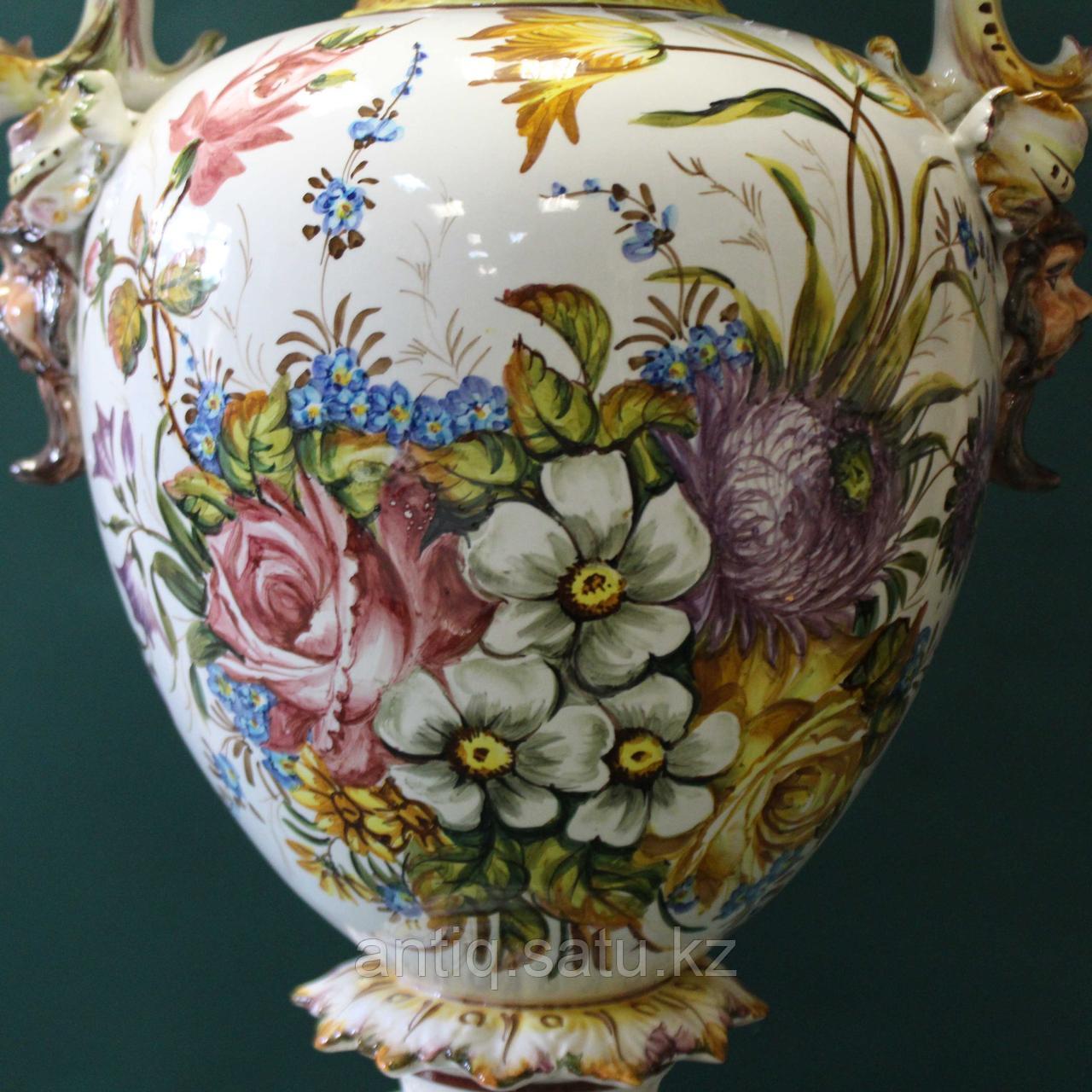 Напольная ваза Carpie Nove. Фарфоровая мануфактура Carpie Nove / Capodimonte - фото 6