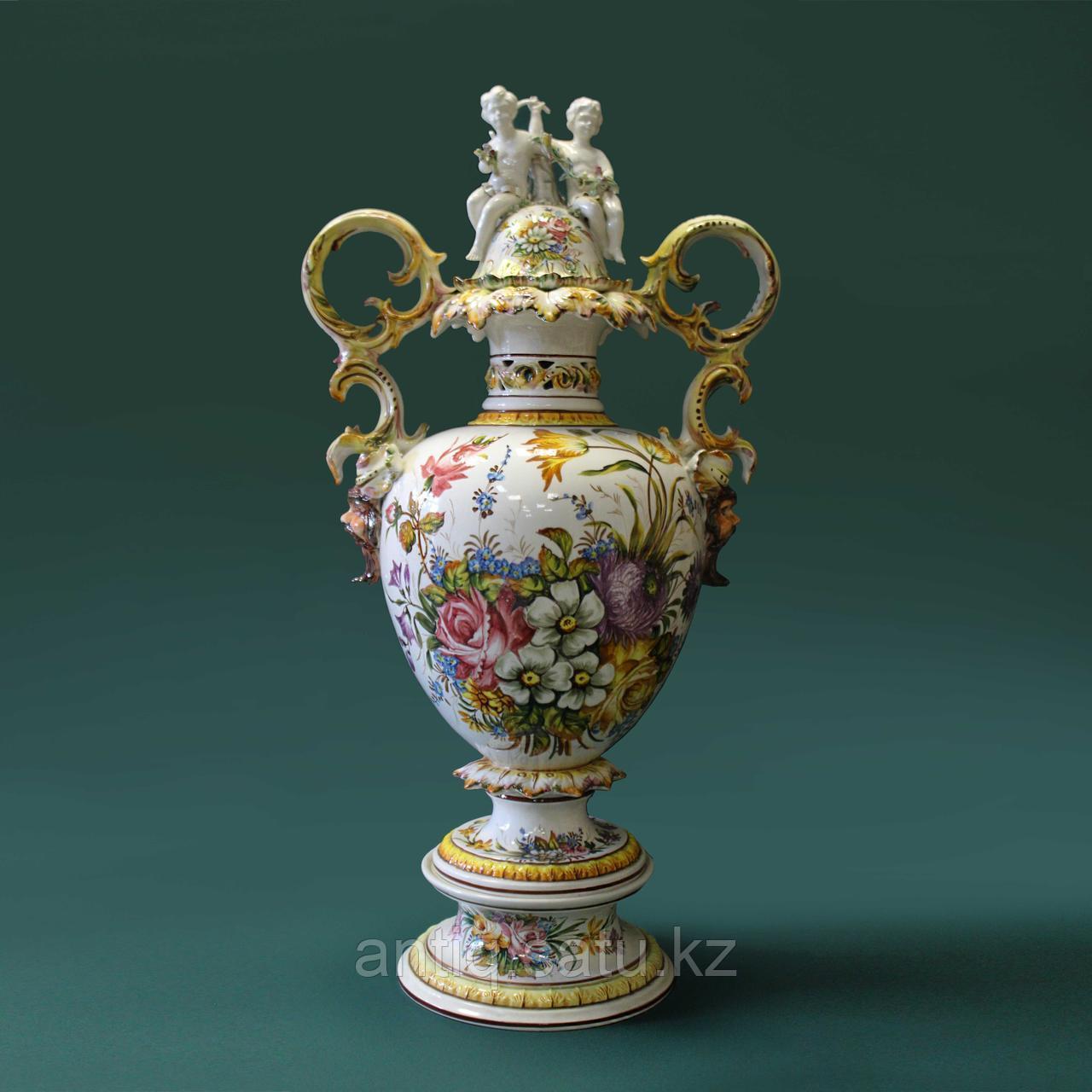Напольная ваза Carpie Nove. Фарфоровая мануфактура Carpie Nove / Capodimonte - фото 1