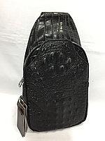 Мужская нагрудная сумка-кобура через плечо.Высота 30 см,ширина 16 см, глубина 6 см., фото 1