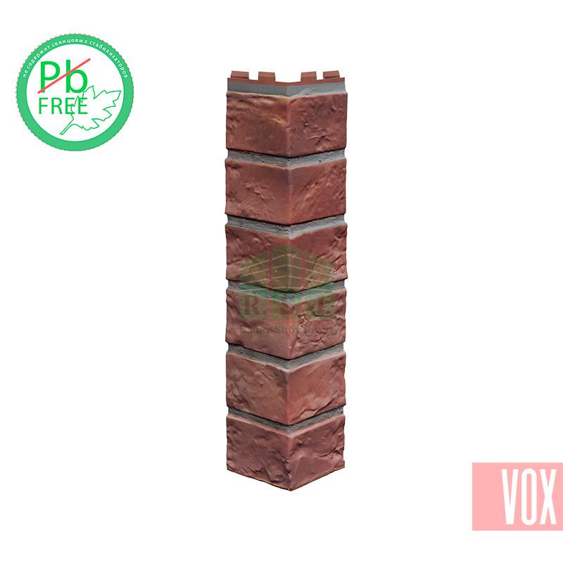 Наружный угол VOX Solid Brick Holland (красный кирпич)