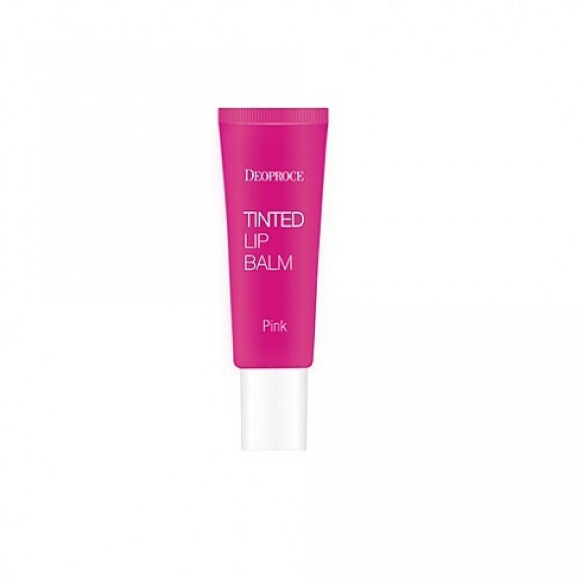 Бальзам для губ Deoproce Tinted Lip Balm 10g. Pink