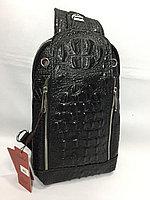 Мужская нагрудная сумка-кобура через плечо.Высота 28 см, ширина 18 см, глубина 6 см., фото 1
