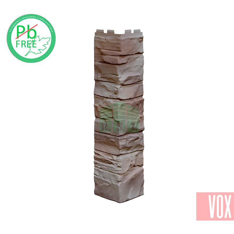 Наружный угол VOX Solid Stone Portugal (коричневый хамелеон)