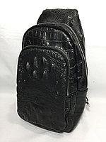 Мужская нагрудная сумка-кобура через плечо.Высота 28 см, ширина 17 см, глубина 7 см., фото 1