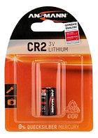 Батарейка литиевая CR 2 Ansmann, 3 V (Premium)