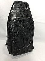 Мужская нагрудная сумка-кобура через плечо.Высота 32 см, ширина 17 см, глубина 8 см., фото 1